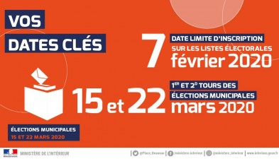 Elections municipales 2020.